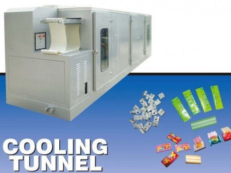 cooling-tunnel-for bubble gum,chewy candy and toffee production