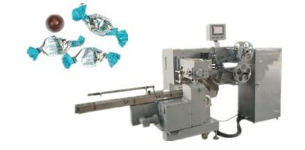 Chocolate single and double twist packing machine